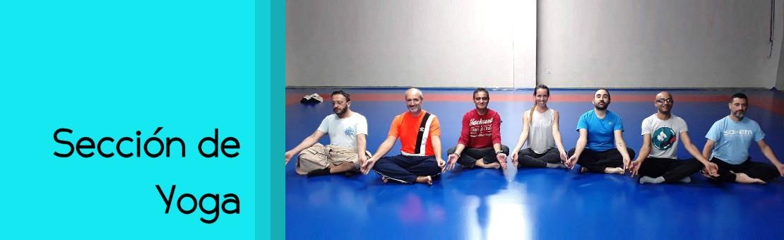 Sección de Yoga